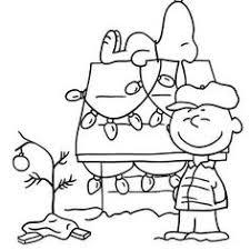 charlie brown christmas coloring pages kids printable