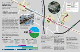 light rail schedule w line vta light rail efficiency project mountain view newsletter spring 2014
