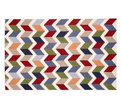 Pottery Barn Zig Zag Rug Chevron Play Rug Pottery Barn