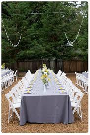 Ideas For Backyard Weddings by A Spring Backyard Wedding Cute Wedding Themes And Ideas Encore
