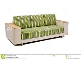 Modern Beige Sofa by Modern Green Beige Sofa Isolated On White Royalty Free Stock