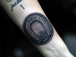 lucky horseshoe tattoo tattoo collections
