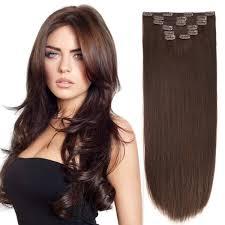 Brown Hair Extensions by Clip In Hair Extensions Bhf 20 U0027 U0027 Dark Brown 2 140g