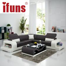 Sofa L Shape For Sale Ifuns Cheap Sofa Sets Home Furniture Wholesale White Leather L