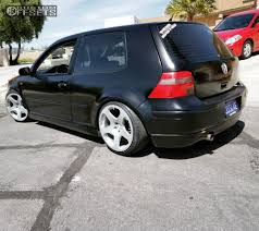 volkswagen golf custom 2002 volkswagen golf rotiform nue solowerks coilovers