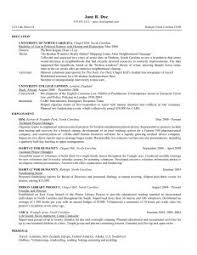 sample resume for high student high resumes for
