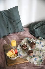 breakfast in bed chocolate muffins gluten dairy and sugar free