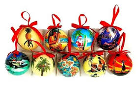 hawaiian tree ornaments buns of