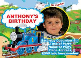 thomas the train party invitations u2013 gangcraft net