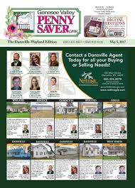 the genesee valley penny saver dansville wayland edition 5 5 17 by
