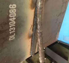 6010 open weld practice on plate