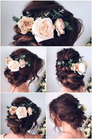 marriage bridal hairstyle best 25 rustic wedding hairstyles ideas on pinterest rustic