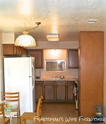 Ideas For Above Kitchen Cabinet Space Fisherman U0027s Wife Furniture Covering Fur Down The Space Above