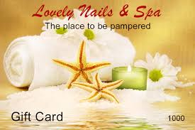 nail salon gift cards gift card lovely nails and spa nail salon winter garden nail