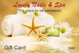 salon gift card gift card lovely nails and spa nail salon winter garden nail