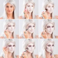 follow this step by step tutorial for spooky ghost makeup