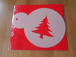 coffee cake christmas stencils christmas tree stars reindeer