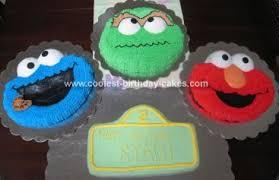 coolest sesame street birthday cake