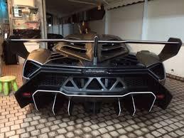 Lamborghini Veneno Back - last lamborghini veneno spotted in hong kong