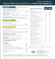 first american home buyers protection plan first american home protection plan home protection plan beautiful