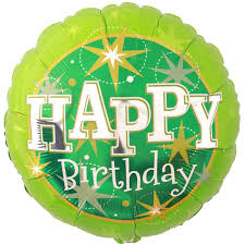 happy green color green sparkle happy birthday foil balloon at balloon smart