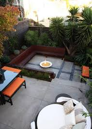 Patio Seating Ideas Outdoor Rooms With Sunken And Raised Areas Add Depth To