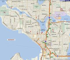 seattle map maps of dallas seattle map