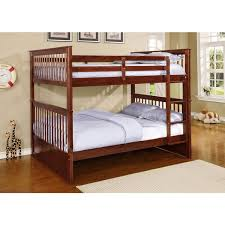 paloma wood full over full bunk bed free shipping today