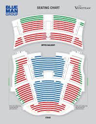 Chicago Theater Map by Blue Man Theatre Las Vegas Tickets Schedule Seating Charts