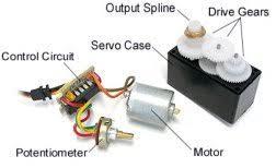 how servo motors work