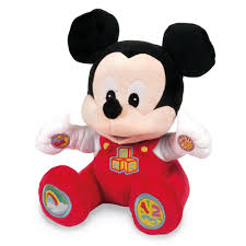 disney mickey mouse baby mickey talking soft toy 20 00