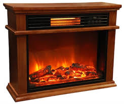 lifesmart fireplace an attractive quartz infrared heater great reviews