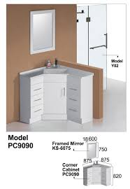 Corner Cabinet Bathroom Vanity by Wash Basin Corner Cabinet Bathroom Vanity Cabinet Buy Bathroom