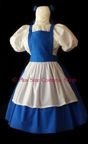Halloween Costume Belle Belle Blue Dress Halloween Costume Size Super Size