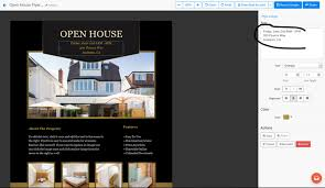 real estate flyer templates and editing