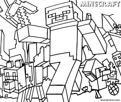 innovation idea minecraft coloring book pages free printable pdf