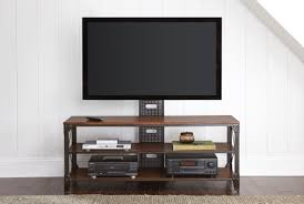 winston industrial tv stand from steve silver wn500tv coleman
