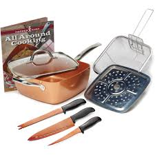 copper chef 8 pc set walmart com