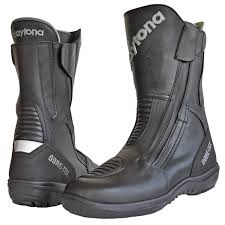 womens motorcycle boots uk daytona road gtx wide black free uk delivery