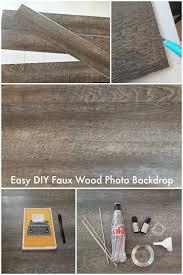 Diy Photo Backdrop Easy Diy Faux Wood Photo Background Tutorial
