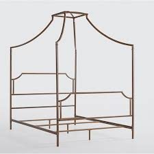 Gold Canopy Bed Pottery Barn Gold Maison Canopy Bed Look For Less