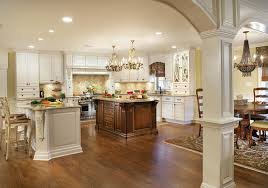 kitchens with large islands kitchen addition with two large islands and built ins