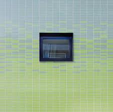 calming blue green tile at german