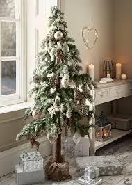 snowy pine cone tree 5ft matalan deckthehalls