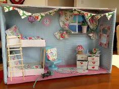 room in a house shoe box dolls house doll houses confidence and box