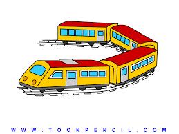 cartoon train ride sun kids wave stock vector 31590331 with