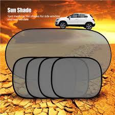 5pcs car sun shade protector blind side rear sunshade block window