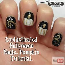 bewitching and sophisticated halloween nail art check out www