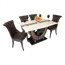 4 Seater Dining Table And Chairs Dining Table Deals India Induscraft 6 Seater Dining Table