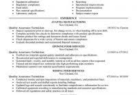 quality control resume quality administrator sample resume cover letter music industry